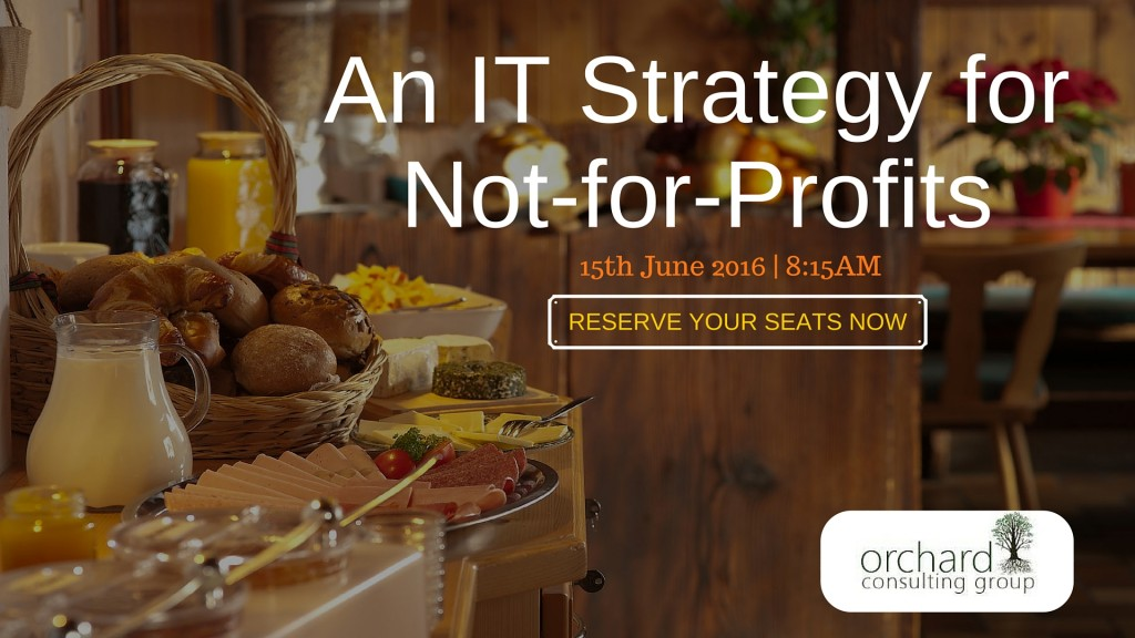 An IT Strategy for Not-for-Profits